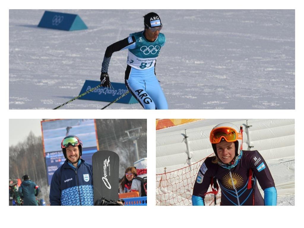 Photo of Tres argentinos estrenaron la nieve de Pyeongchang