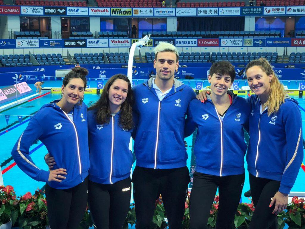 Photo of Las nadadoras argentinas en el Top 20