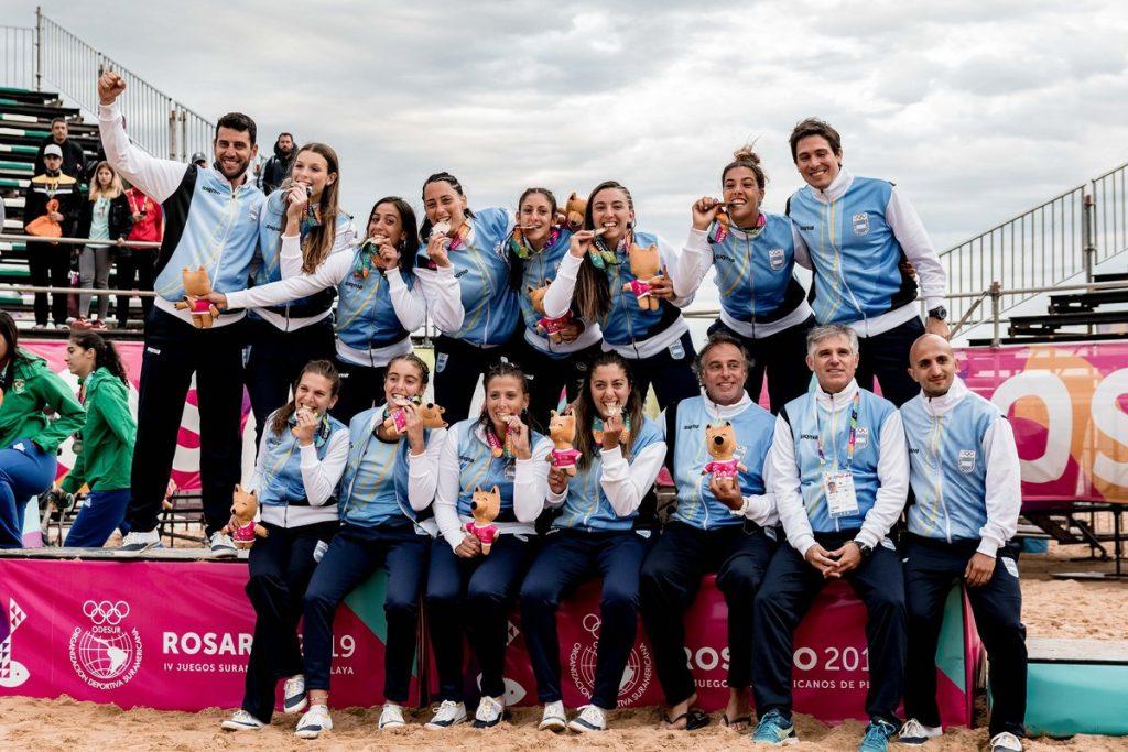 Photo of ¡El beach handball es de oro!