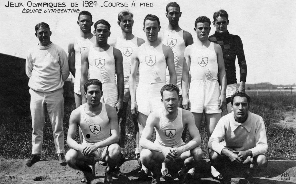 Photo of París 1924: primera Delegación Argentina