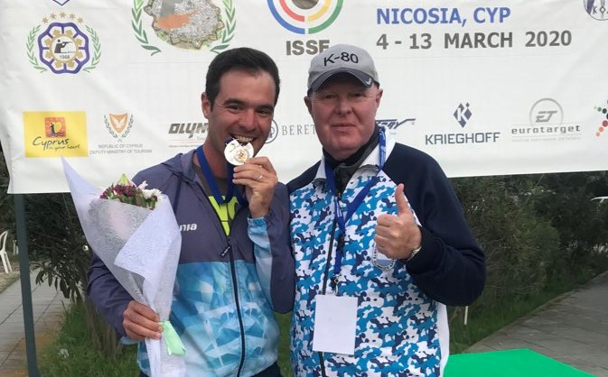 Photo of Federico Gil obtuvo la medalla de bronce en Chipre