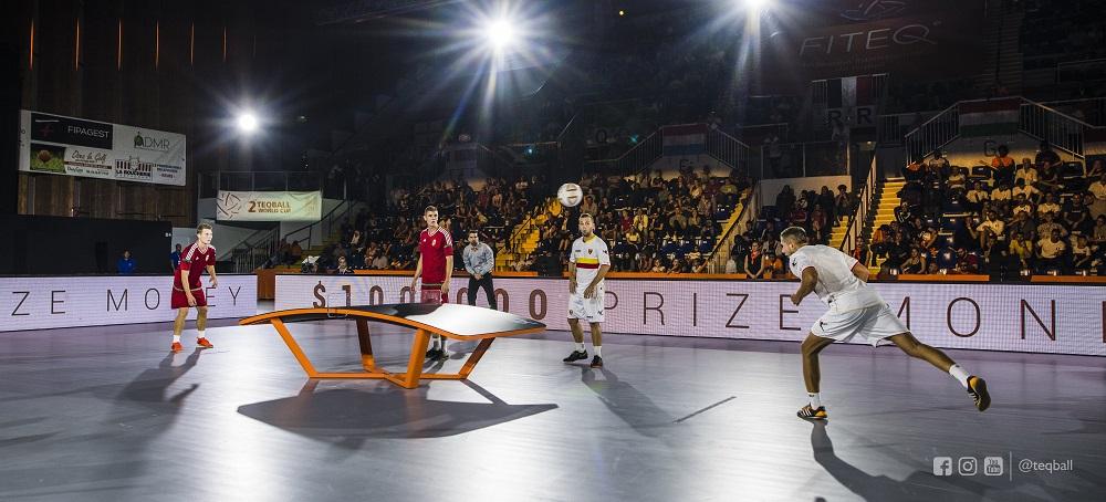 Photo of Teqball: cuando el fútbol y el tenis de mesa se fusionan