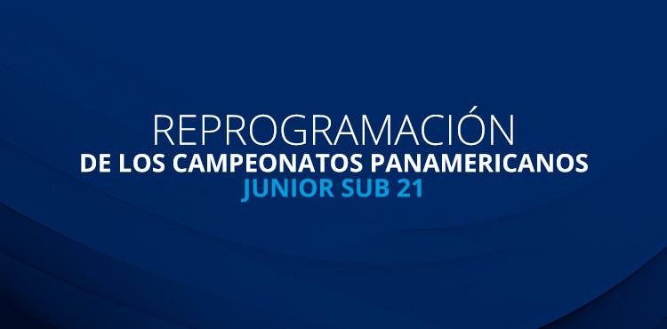 Photo of Campeonatos Panamericanos Junior Sub-21 reprogramados