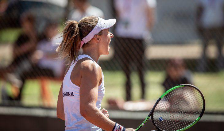 Photo of Podoroska está lista para su vuelta al circuito WTA
