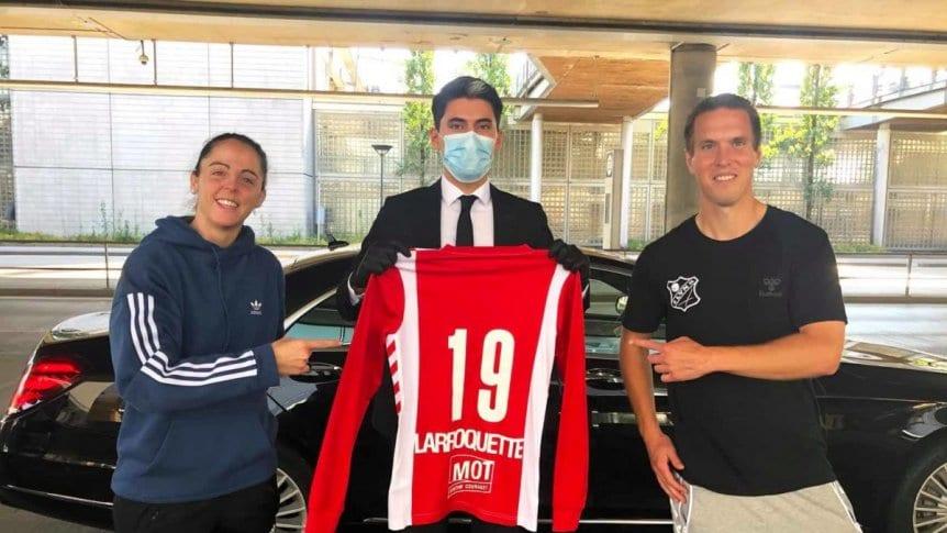 Photo of Larroquette tendrá su primera experiencia en el fútbol europeo