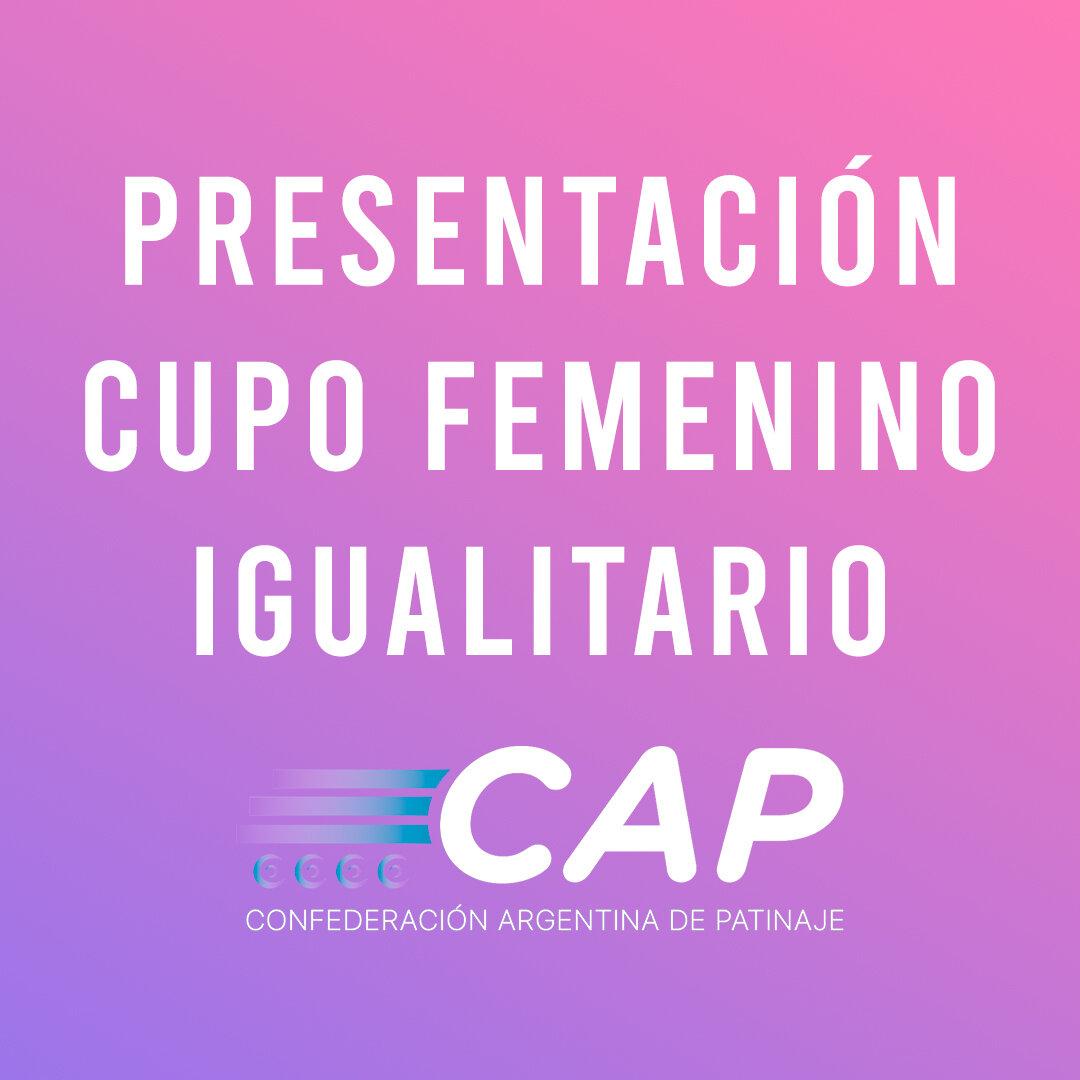 Photo of Disertación del cupo femenino igualitario