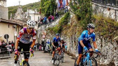 Photo of Sepúlveda 32° en la novena etapa del Giro