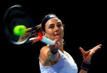 Photo of Podoroska cerró su participación en el Yarra Valley Classic