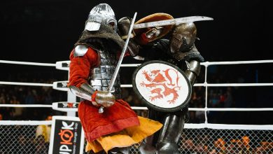 Photo of Artes marciales mixtas y lucha medieval: la combinación más extrema