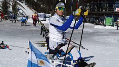 Photo of Nicolás Lima, el deportista que encontró la felicidad en el esquí adaptado