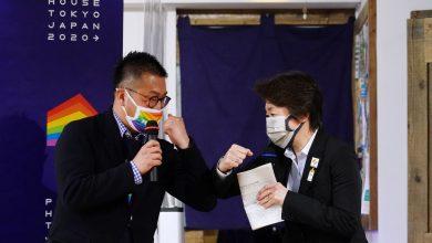Photo of Seiko Hashimoto visitó la Pride House en Tokio