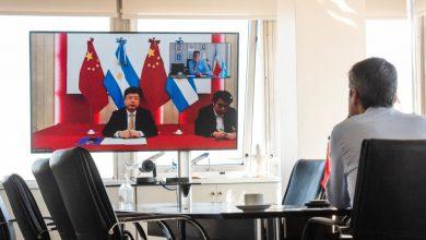 Photo of Lammens se reunió con el embajador de China
