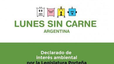 """Photo of CABA: de Interés ambiental los """"Lunes sin carne"""""""