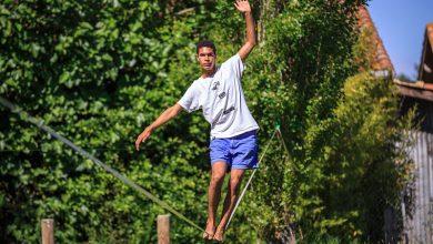 Photo of Slackline: donde reina el equilibrio