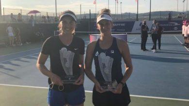 Photo of Victoria Bosio campeona en dobles en España