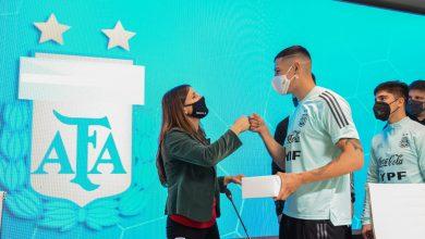 Photo of La selección, con amistoso ante Corea confirmado, recibió la bandera argentina