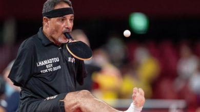 Photo of Ibrahim Hamadtou, el jugador de tenis de mesa que sorprende al mundo