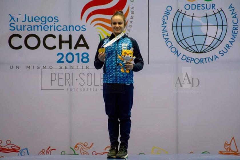 Martina Dominici campeona en 2018