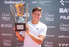Photo of Sebastián Báez, el dueño del circuito Challenger