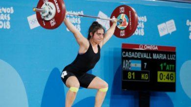 """Photo of Luz Casadevall: """"Me dieron el alta y al otro día me puse a entrenar"""""""